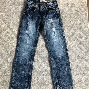 Other - Boys Acid-washed Distressed Jeans